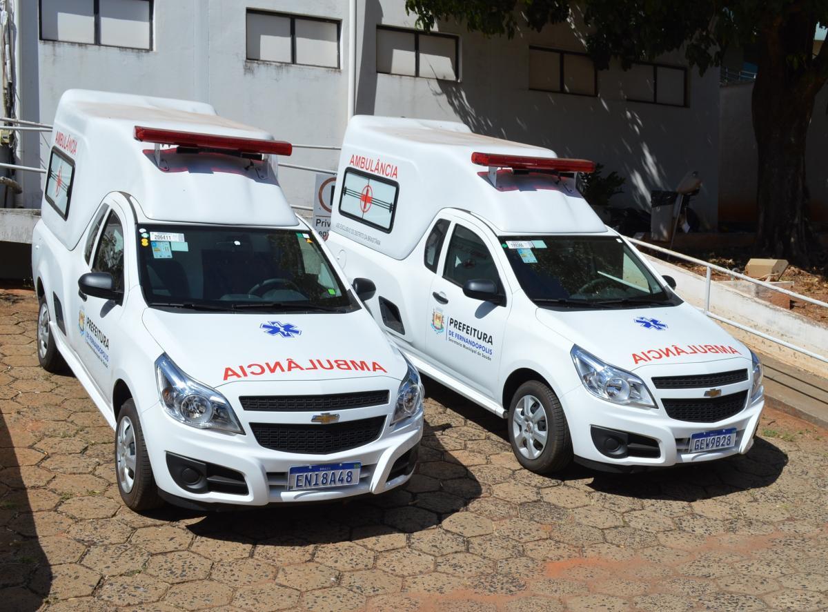 Prefeitura destina nova ambulância para o distrito de Brasitânia