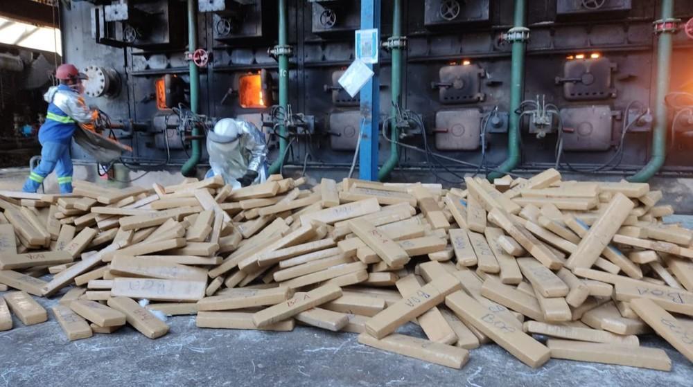 Polícia Federal incinera mais de 1,5 tonelada de drogas apreendidas na região
