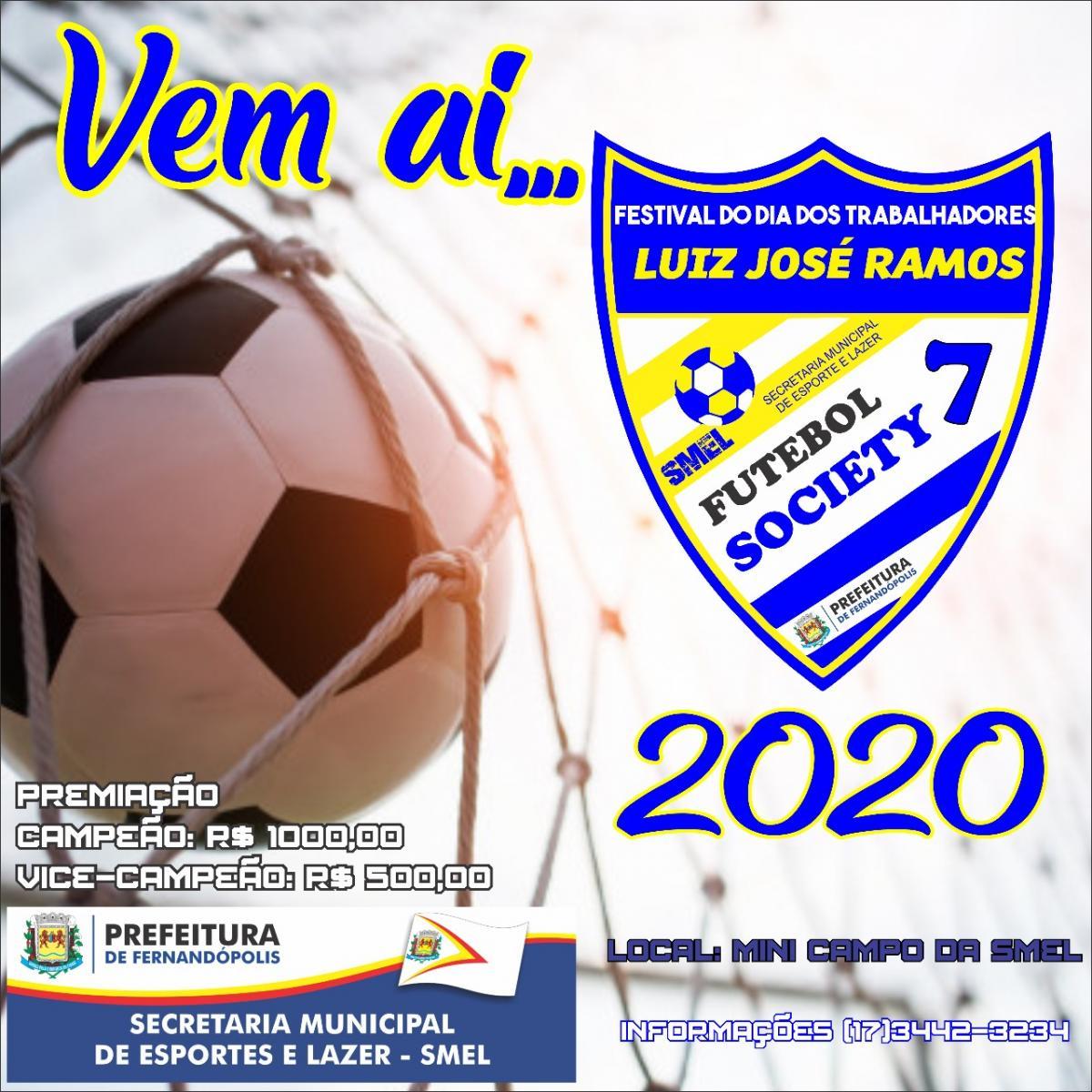 Secretaria de Esportes abre inscrições para a Copa 1º de Maio no dia 13