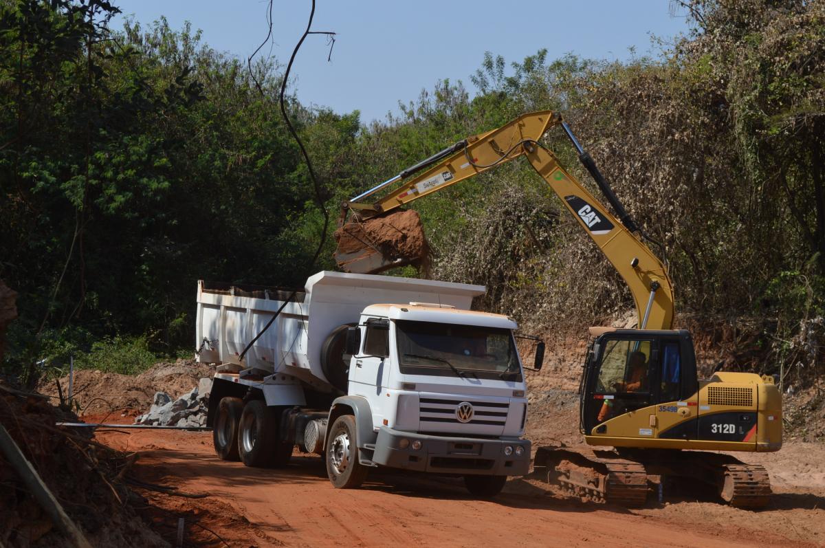 Começa a construção da represa na Theotônio Vilela