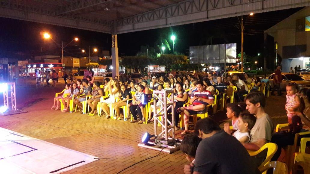 Ouroeste recebeu mais uma apresentação do Circuito Cultural Paulista