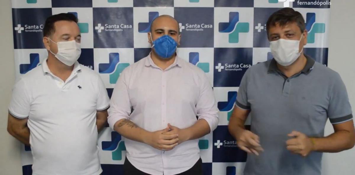Santa Casa Fernandópolis receberá 12 novos leitos de UTI para coronavírus do governo estadual