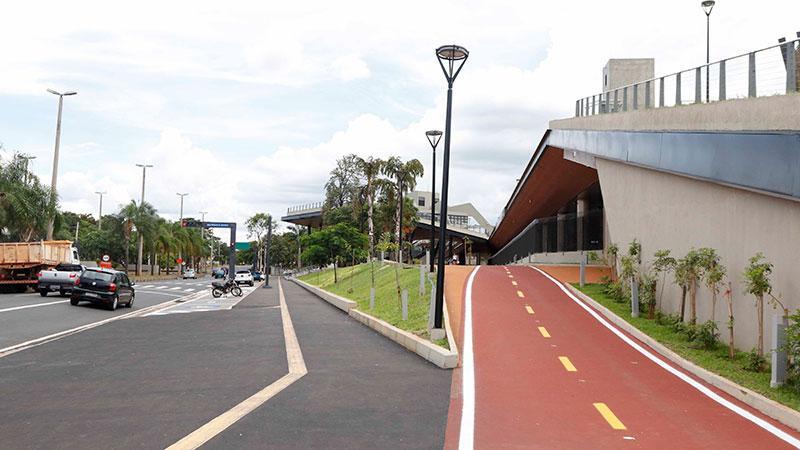 Trânsito conclui área de desembarque externo no Novo Terminal Urbano