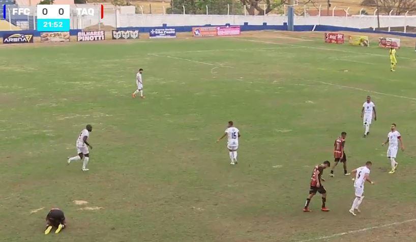 Assista ao vivo o confronto entre Fefecê e Taquaritinga válido pela 3ª rodada da Segundona