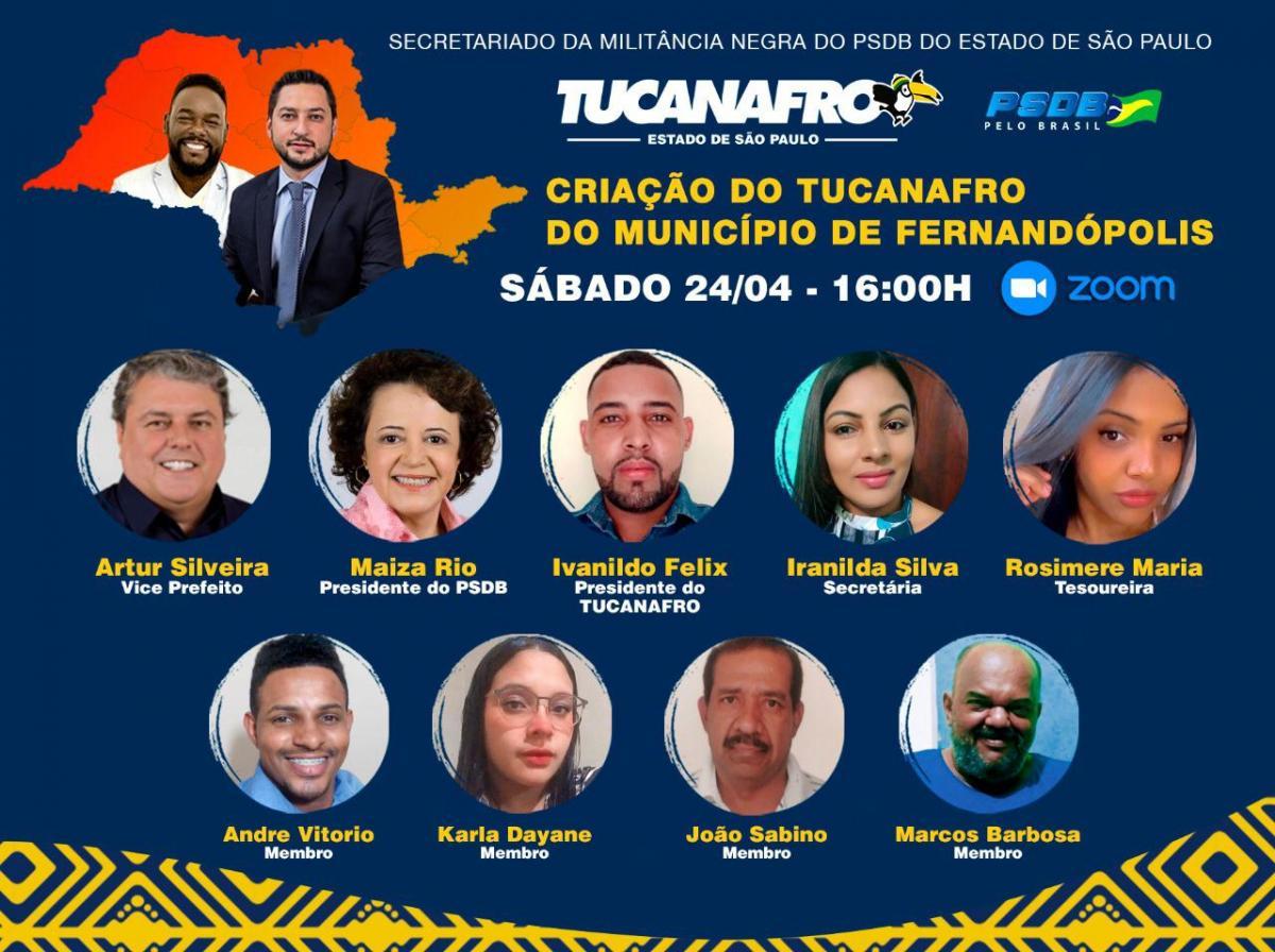Ex-candidato a vereador pelo PSL será o presidente do Secretariado da Militância Negra do PSDB em Fernandópolis