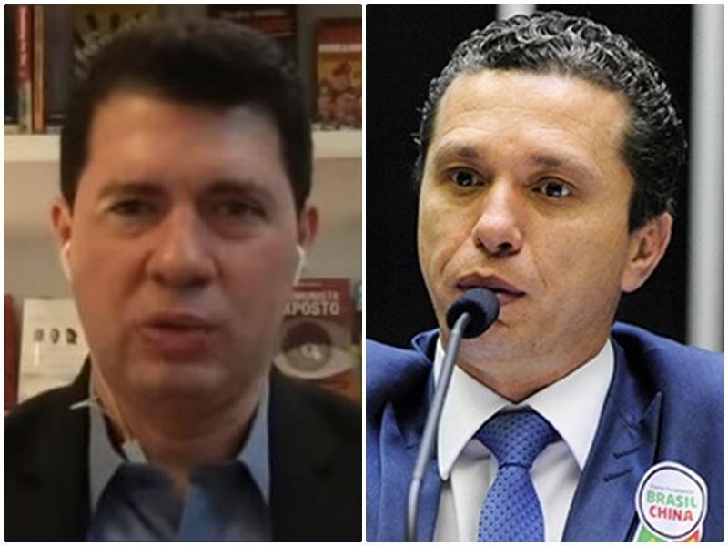 Jornalista chama Fausto de 'jeca deslumbrado' e acusa o parlamentar: ele 'trai o país por pouco'