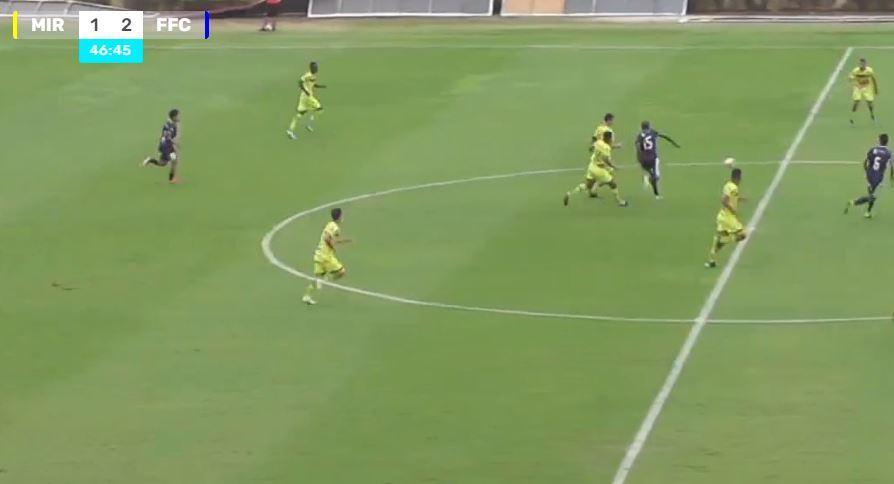 Sub-20 do Fefecê bate o Mirassol e entra na zona de classificação do Paulista