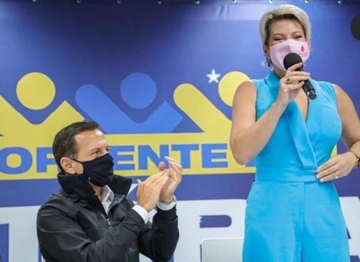 Fenômeno de votos em Fernandópolis em 2018, Joice vira 'soldado' de Doria no PSDB