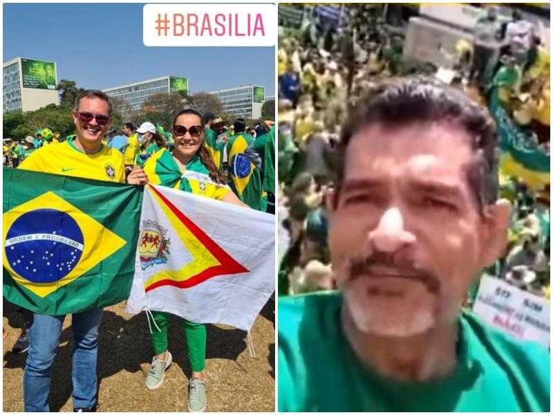 Cantarella e Cabo Santos participam de atos do 7 de Setembro em Brasília e SP