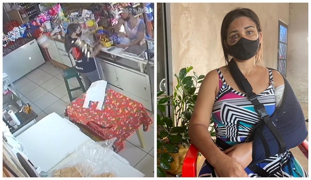 Homem que agrediu funcionária de padaria após pedido para usar máscara deixa penitenciária