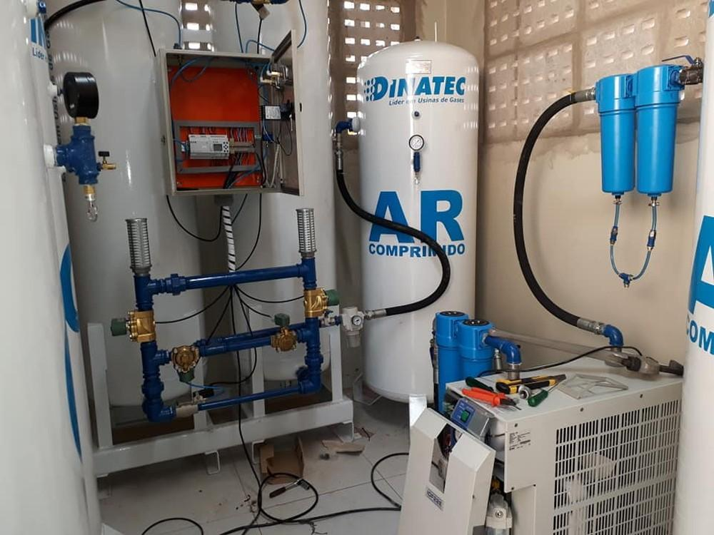 Usina de oxigênio é implantada na UPA de Fernandópolis para suporte a pacientes com a Covid-19