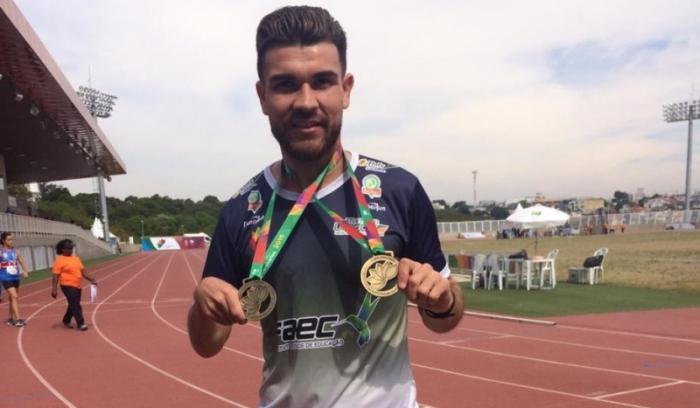 Fernandopolense conquista medalhas no Brasileiro Paralímpico