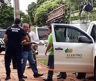 Elektro divulga balanço das ações de combate ao furto de energia em Fernandópolis