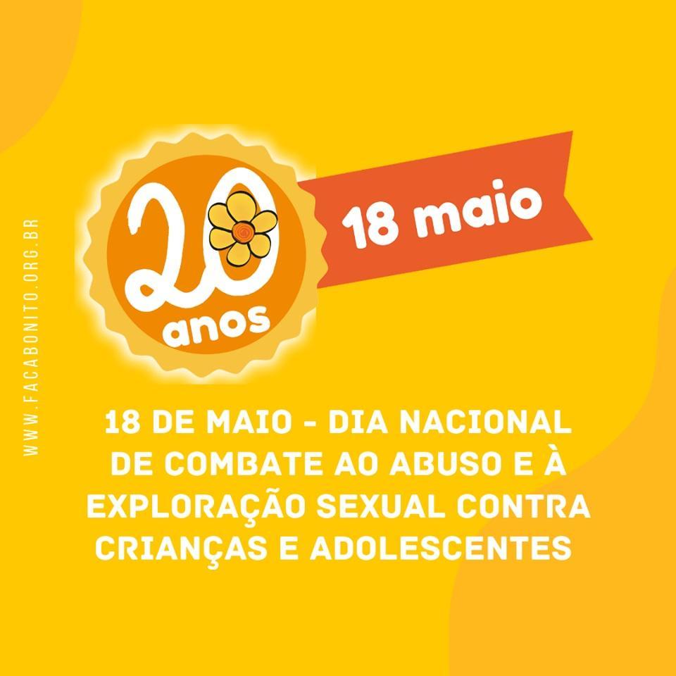 CREAS faz campanha contra o 'Abuso e Exploração Sexual de Crianças e Adolescentes'