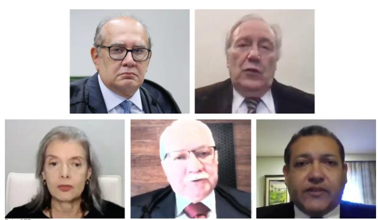 STF dividido entre salvar Lula ou salvar todos os criminosos