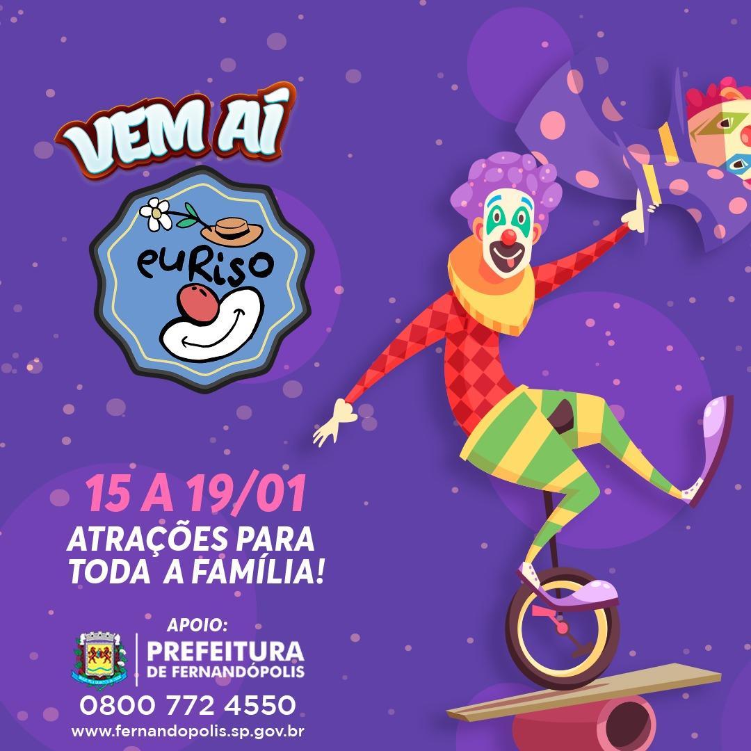 'EuRiso' começa hoje em Fernandópolis