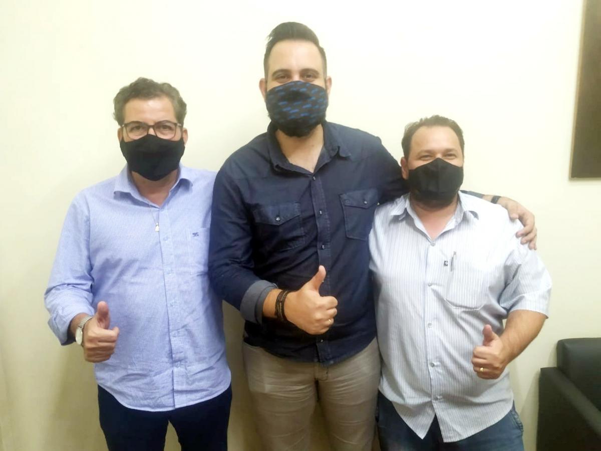 Henri Dias se encontra com representante do MBL e solicita recursos para Fernandópolis