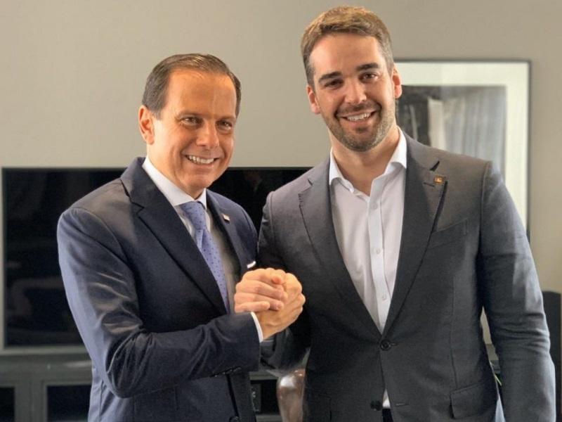 Doria perde espaço para Leite na disputa das prévias do PSDB