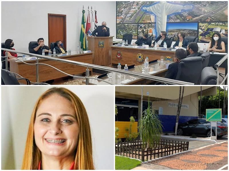 Câmara de Meridiano abre duas investigações contra a prefeita Márcia Adriano